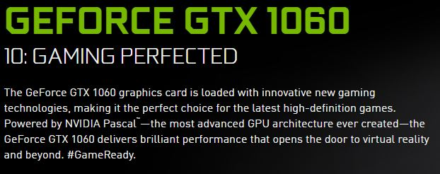 desktop gaming pc gtx 1060